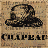 Chapeau Posters by Lisa Ven Vertloh