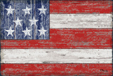 American Flag Prints by Paul Brent