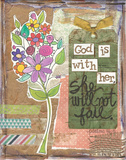 God Is With Her Art by Monica Martin