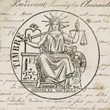 French Stamp II Kunst af Babbitt Gwendolyn