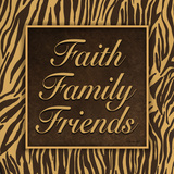 Faith, Family, Friends II Print by Williams Todd
