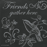 Bird Friends Lámina por Gwendolyn Babbitt