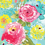 Spring Fling Medley II Prints by Berrenson Sara