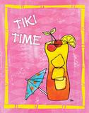 Tiki Time III Art by Teresa Woo
