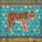 Tribal Trek III Art by Paul Brent