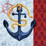 Montauk Anchor II Posters by Brent Paul