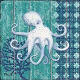 Indigo Sea IX Poster by Brent Paul