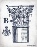 Indigo Column B Art by Gwendolyn Babbitt