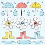 In the Rain I Art by Mack Steve