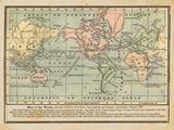 World Map I Art by Babbitt Gwendolyn