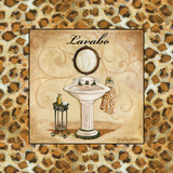 Leopard Lavabo Prints by Gorham Gregory
