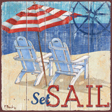 Seas the Day II Print by Brent Paul