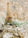 Sepia Paris Posters by Roberto LuAnn