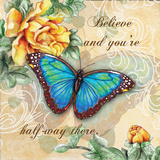 Inspire Butterfly II Print by Donna Knold