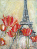 Paris Tulips Posters by Palanuk-Wilson Denice