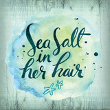 Sea Hair Print by Ashley Sta Teresa
