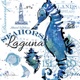 Seahorse Laguna Prints by Julie Paton