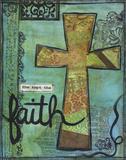 She Kept The Faith Print by Monica Martin