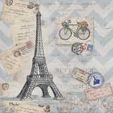 Bon Voyage I Prints by Paul Brent