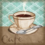 Trellis Cafe II Posters by Paul Brent