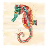 Seahorse Art by Sara Berrenson