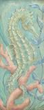 Santorini Seahorse I Prints by McRostie Kate