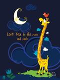 Moony Light! Prints by  Blue Fish