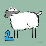 Soft Sheep 2 Posters by Kris Ruff