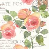 La Vie En Rose I Posters by Julie Paton
