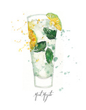 Mint Mojito Print by Berrenson Sara