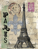 Travel Paris Prints by Donna Knold