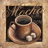 Mocha Poster by Todd Williams
