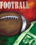 Football Prints by Donna Knold