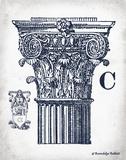 Indigo Column C Posters by Babbitt Gwendolyn