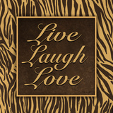 Live, Laugh, Love II Art by Todd Williams