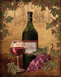 Red Wine Prints by Williams Todd