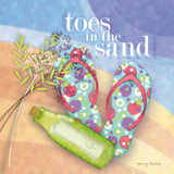 Toes in the Sand Prints by Archer Nancy