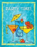 Tiki Time II Posters by Teresa Woo