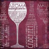 Vino Lingo I Prints by Paul Brent