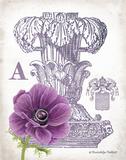 Column & Flower A Prints by Gwendolyn Babbitt