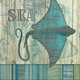Havet   Plakater af Audrey Charlene