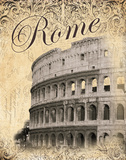 Rome Prints by Williams Todd