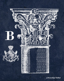 White Column B Art by Gwendolyn Babbitt