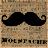 Moustache Posters by Lisa Ven Vertloh