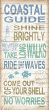 Coastal Guide Posters by Todd Williams