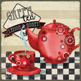 Tea Time II Poster by Brent Paul