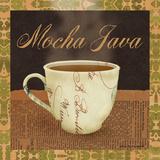 Mocha Java Print by Ven Vertloh Lisa