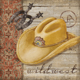 Wild West Hats II Prints by Brent Paul
