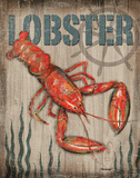 Lobster Poster by Todd Williams