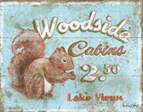 Woodside Cabins Prints by Jones Catherine